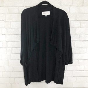 Cupcakes and Cashmere Black Cassie Cardigan, Small